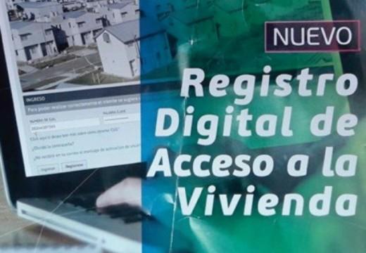 Registro Digital de Acceso a la Vivienda.