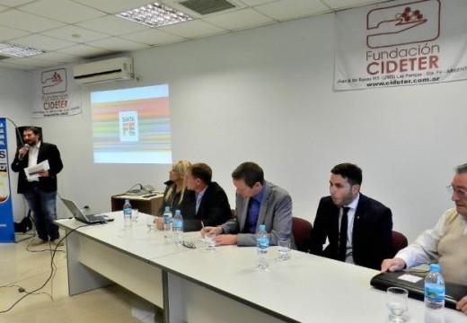 La provincia organizó la Jornada para el Desarrollo Industrial en Las Parejas.