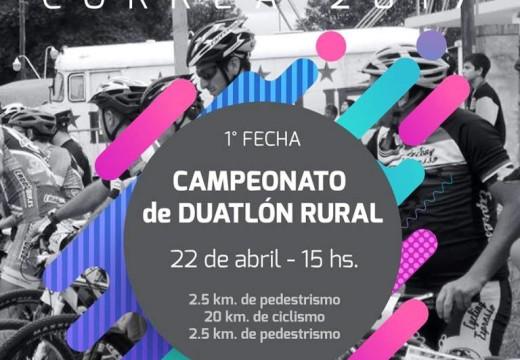 El Campeonato de Duatlón Rural comienza en Correa.