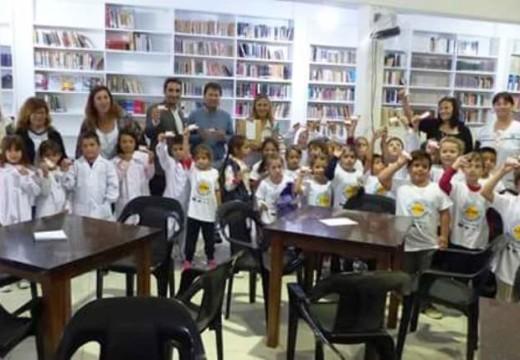 La Biblioteca Correa asoció gratuitamente a 200 alumnos de 1er y 2do grado.