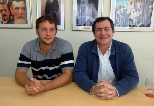 Verdecchia anuncio la recepción del primer Aporte del Tesoro Nacional.