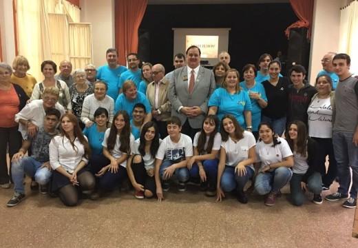 Rotary Club Armstrong festejó sus 50 años.