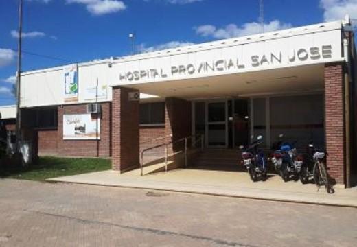 Acto Inaugural en el Hospital San Jose de Cañada de Gómez.