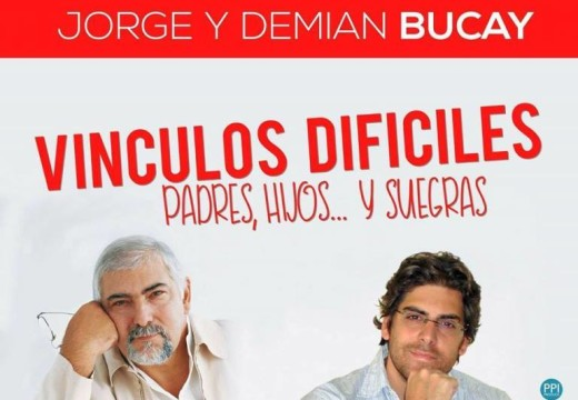 Jorge Bucay presenta Vínculos Difíciles en la Sala Iris Marga.