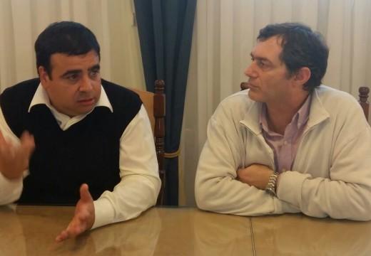 Verdecchia recibió al Jefe de la Brigada Antidrogas.