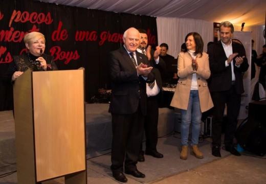 Clérici y Lifschitz presentes en el centenario de NOB.