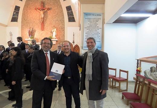 Montes de Oca aplaudió con emoción al Coro Nacional de Ciegos «Carlos Larrimbe».