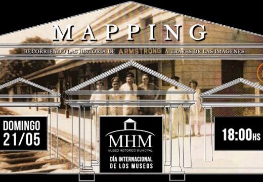 Armstrong. Proyecciones y mapping de video.