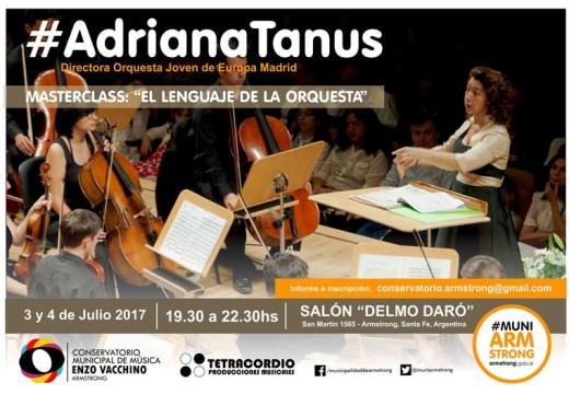 "Masterclass ""El Lenguaje de la Orquesta""."