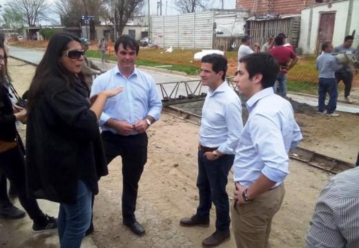 Autoridades Nacionales visitaron la ciudad rosense.