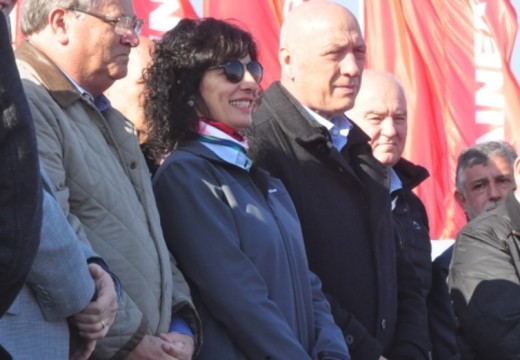 Bonfatti acompañó, como cada año, la inauguración de AgroActiva.