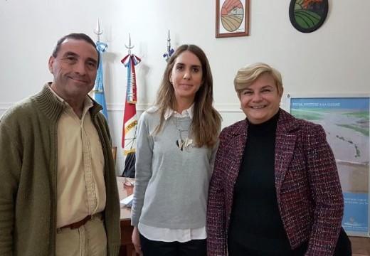 Cañada de Gómez. Clerici se reunió con autoridades por la planta de reciclado.