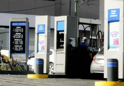 Hoy aumenta el precio de los combustibles entre un 6% y un 7,2 por ciento.