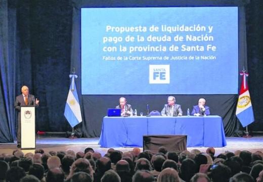 Lifschitz sumó apoyo político por la deuda de la Nación con Santa Fe.
