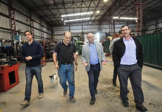 Verdecchia recibió al Pre-candidato a Dip. Nacional de Cambiemos Albor Cantard y recorrieron empresas.