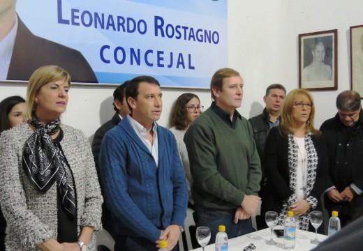 Lanzamiento de la lista de concejales «Unidos por Armstrong».