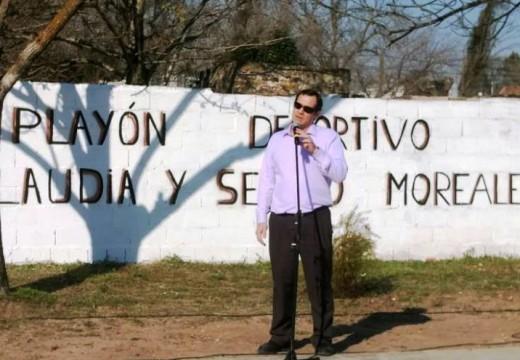 Armstrong. Quedó habilitado el Playón Deportivo Claudia y Sergio Moreale.