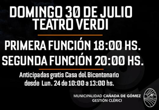 Cañada de Gómez. Ya se pueden retirar las entradas para el «Festival de Cortos 72 horas».