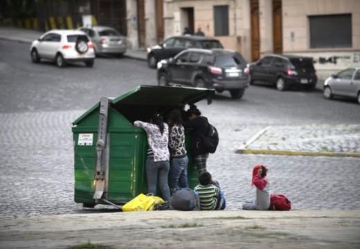 Seis de cada diez chicos argentinos son pobres, según un informe de la UCA.