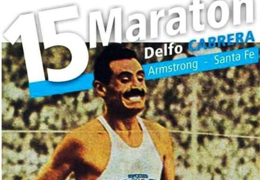 En pocas horas llega la Maratón Homenaje a Delfo Cabrera.