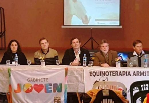 Primer Encuentro de Capacitación Santafesino de Terapias Asistidas con Animales.