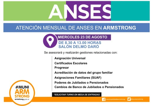 Comunicado consultas ANSES Agosto 2017.