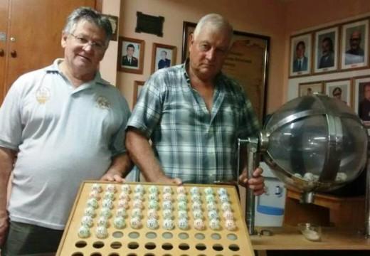 Ganadores de la Tómbola Solidaria Organizada por Asociación de Bomberos.