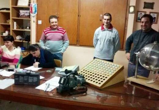 Ganadores del Sorteo de la Tómbola Solidaria de Asociación de Bomberos.