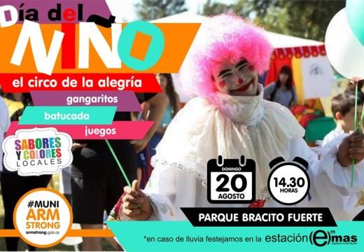Festejo del Día del Niño 2017.