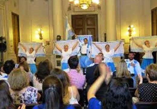 """El Ballet de """"Peña el Amanecer"""" de Correa se presentará en Villa Guillermina."""