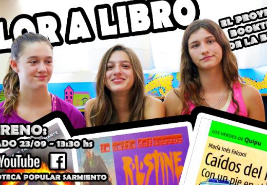 Biblioteca Popular Sarmiento estrena «Olor a Libro», plataformas de Facebook y Youtube.