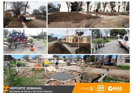 Armstrong. Reporte Semanal de Obras y Servicios Públicos.