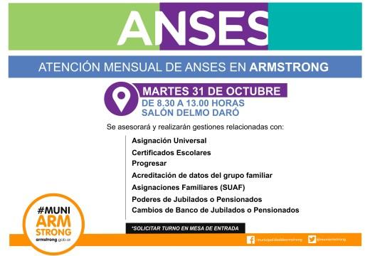 Comunicado Anses octubre 2017.