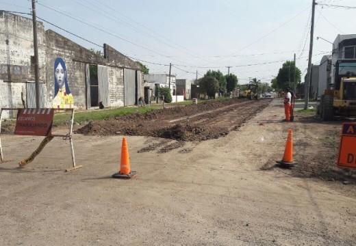 Estado del tránsito en zona de obras, La Plata y Flotron.