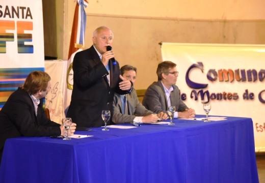 Lifschitz anunció obras viales e hídricas para Mtes de Oca y la región.