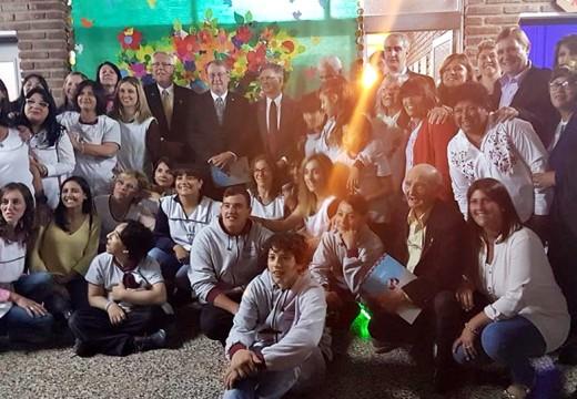 Las Parejas: inauguraron la Sala Multisensorial en la Escuela Especial.