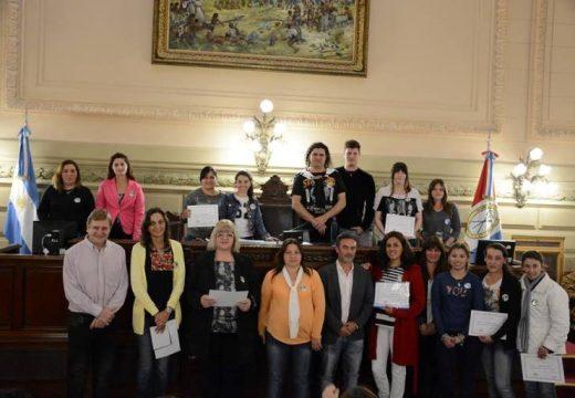 Alumnos de Tortugas participaron en el programa Jóvenes en el Senado.