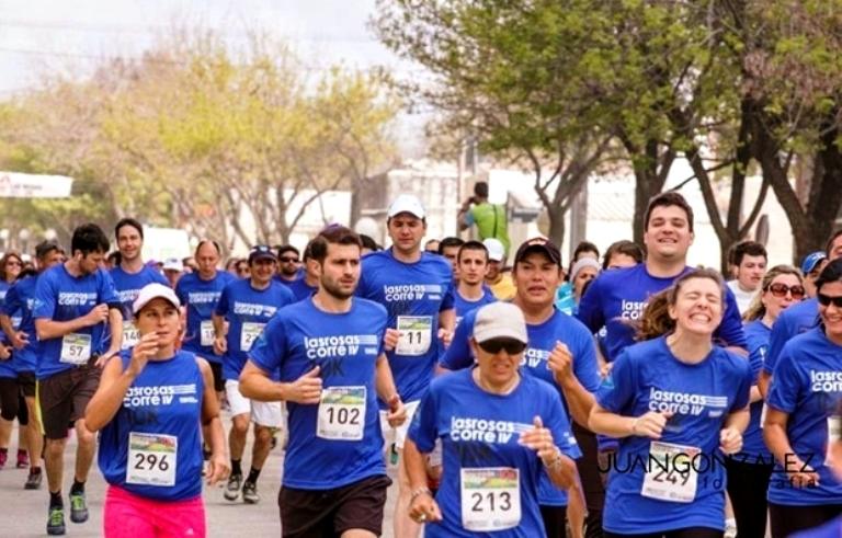 "El domingo 8 se corre la 6ª. Maraton ""Las Rosas Corre""."
