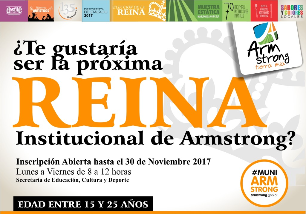 placa inscripcion reinas 2017