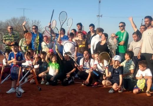 Las Rosas. Los robos no cesan…se llevaron raquetas de la Escuela de Tenis Adaptado.
