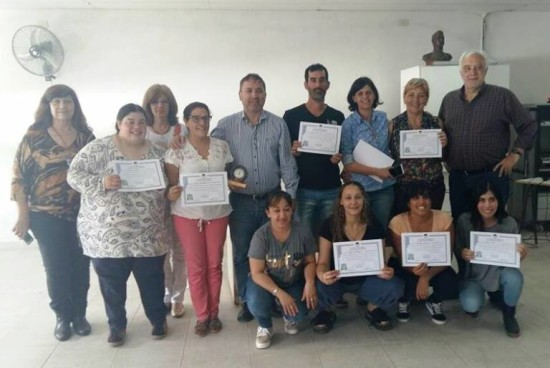 Las Rosas. Culminó el Curso de Prevención de Adicciones 2017.