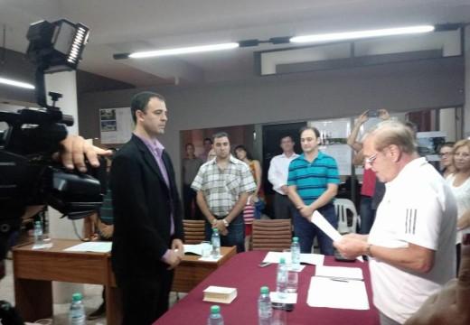 Alejandro Pertusati asumió al cargo de concejal en reemplazo de Daniela Pérez.