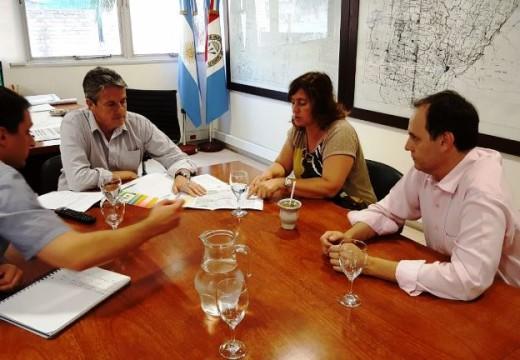 El Comité del Arroyo Totoras recibió 7,5 millones para continuar sus obras.