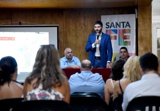 El ministro Pullaro presentó los datos preliminares sobre siniestralidad vial del 2017