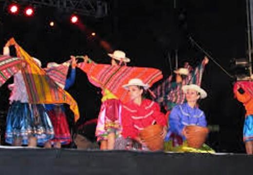 "1° Festival Internacional de Danzas Folklóricas ""Huellas de América"","