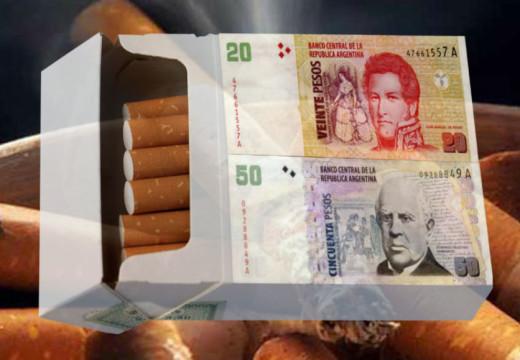El precio de los cigarrillos sube un 5%.