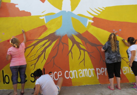 El Ateneo Cultural «Edrán Cortes» finalizó el Mural de «ALAS»