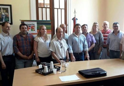 La cooperativa Regional por el gas se reunió en Santa Fe.