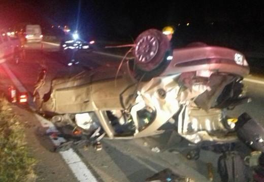 Armstrong. Accidente en Autopista.