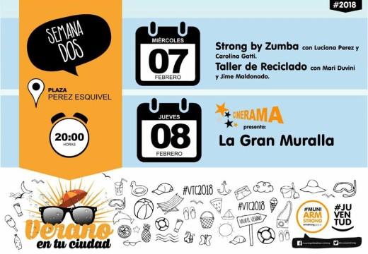 """Armstrong. """"Verano en tu Ciudad. Semana 2""""."""